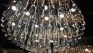 Gigant Kryształowy Plafon, kryształowy żyrandol 100 cm
