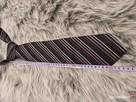 Krawat Giorgio Valention * Italy Mode * krawat męski czarny - 12