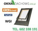 Wyłaz - okno - okna - dachowe - OptiLook 46x55 z kołnierzem - 2