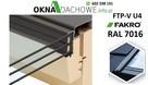 Okno dachowe antracyt FAKRO FTP-V U4 78x160 RAL 7016