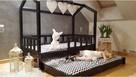 Łóżko dla dziewczynek Bella z drugim spaniem 120 x 60 cm