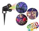 Projektor laserowy LASER STAR SHOWER 2 kolory + pilot IP67