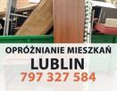 Opróżnianie mieszkań sprzątanie piwnic Lublin / wywóz mebli