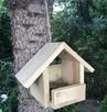 Karmnik, domek lęgowy, paśnik dla ptaków-ECO , DREWNO