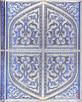 Wspaniały metalizowany notatnik Perski Splendor srebrzony - 2