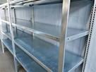 REGAŁ 54x200x400/15p OCYNKOWANY Magazynowy Garażowy Metalowy - 4