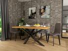 Stół LOFT nowoczesny stal i drewno dębowe dostawa gratis!