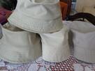 kapelusz ochronny bawełna jasne kolory nowe