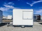 Przyczepa gastronomiczna budka 3 m food truck lody handlowa