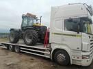 Transport ciągników, maszyn rolniczych i budowlanych.