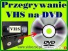 PRZEGRYWANIE kaset VHS na DVD Augustów