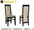 Krzesła, Stół Zestaw Mebli PRODUCENT Łańcut