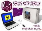 Usuwanie wirusów, Odblokowywanie systemu, Serwis komputerowy