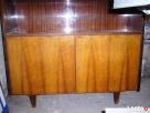 Sprzedam biblioteczkę orzech połysk i stół z czarnym Lublin