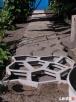 Forma do kostki betonowej - Kocie Łby 60x60 cm - 8