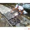 Forma do kostki betonowej - Kocie Łby 60x60 cm - 6