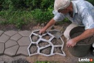 Forma do kostki betonowej - Kocie Łby 60x60 cm - 5