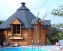 Polarhouse grill z sauną, domek, beczka kąpielowa NA RATY Warszawa