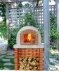Piec chlebowy piec do pizzy opalany drewnem TUMA 120 B1 - 4