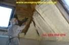 Ocieplenie dachu poddasza pianka - 2