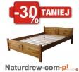 Nowe Solidne Drewniane Łóżka 90,120,140,160,180 PRODUCENT