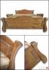 Unikatowe Drewniane Łóżka 140,160,180,200 Różne Kolory  - 6