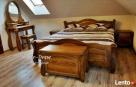 Unikatowe Drewniane Łóżka 140,160,180,200 Różne Kolory  - 1