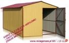 Garaże blaszane, kojce dla psów, hale, magazyny - Producent - 1