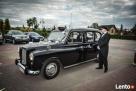 Londyńska Taksówka do ślubu,retro!Unikalne auto Brodnica