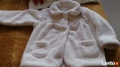 Płaszczyk - kurteczka biała z POLARU roz. 86 Toruń