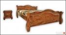Drewniana Sypialnia 200x200 - różne Kolory - PRODUCENT - 2