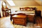 Drewniana Sypialnia 200x200 - różne Kolory - PRODUCENT - 5