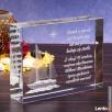 Kryształ »Jacht 3D« w prezencie dla marynarza! - 3