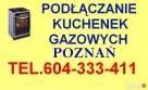 HYDRAULIK MONTAŻ KUCHENEK GAZOWYCH POZNAŃ 70zł montaż Poznań