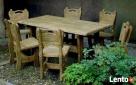 Komplet stylowych mebli - stół i krzesła Bielsko-Biała