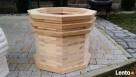 drewniane donice - 2