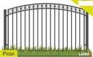 Ogrodzenia,przęsło ogrodzeniowe P23a Gorlice