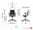 Krzesło biurowe Arca 21SL Profim - 5
