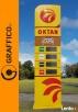 Pylony cenowe, wieże reklamowe dla stacji paliw _ GRAFFICO - 3