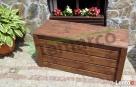 Kufer drewniany kufer ogrodowy skrzynia drewniana ogrodowa L Mieszkowice
