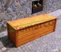 Kufer drewniany ogrodowy skrzynia drewniana ogrodowa XXL Mieszkowice