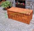 Kufer drewniany ogrodowy skrzynia drewniana ogrodowa XL Mieszkowice