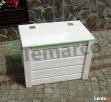 Kufer drewniany kufer ogrodowy skrzynia drewniana ogrodowa S Mieszkowice