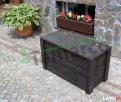 Kufer drewniany kufer ogrodowy skrzynia drewniana ogrodowa M Mieszkowice