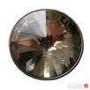 Guzik kryształowy z otworem do nawlekania 25 mm ZŁOTY! Dobrzeń Wielki