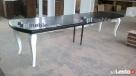 Producent mebli drewnianych, fornirowanych, stół ludwik
