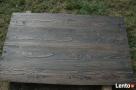 Blaty drewniane ze starego drewna Stare deski Loft Stół - 3