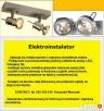 Elektryk- naprawa starych żyrandoli,montaż oświetlenia. - 3