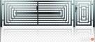 Brama dwuskrzydłowowa1,5x4m + furtka 1x1,5m D-08 oc+kolor