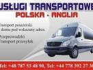 Przewóz osób,paczek,przeprowadzki Polska-Anglia-Polska